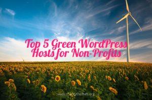 Top 5 Green WordPress Hosts